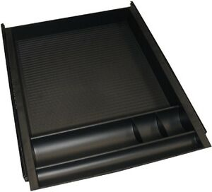Pencil Drawer Bb Slide Opening Requirements 15 w X 19 D X 2 h Black Tray
