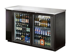 Commercial Back Bar Cooler 60 Glass Door