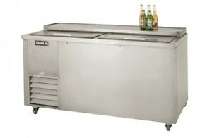 60 Commercial Bottle Cooler Deep Well Beer Cooler Refrigerated etl Nsf