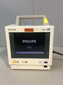 Philips M3046a M4 Patient Monitor 6