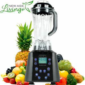 New 3 5hp Digital Touch Pro Commercial Fruit Smoothie Blender Juice Mixer J