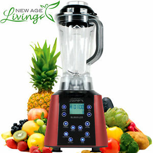 New 3 5hp Digital Touch Pro Commercial Fruit Smoothie Blender Juice Mixer
