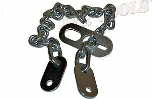 New 36 X 8mm Engine Lifting Chains Sling Connects To Hoist Lifting Plate Zinc