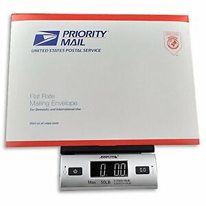 Accuteck Digital Postal Shipping Scale Mail Letter Electronic Lcd W Ac Adapter