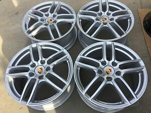 19 Oem Factory Made In Germany 2017 Porsche Cayenne Turbo Wheels