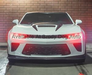 2016 2018 Camaro Ram Air Hood With Functional Heat Extractor Rk Sport 40014000
