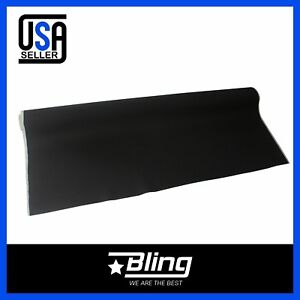 Black Car Auto Roof Body Upholstery Headliner Fabric Foam Backed 100 x60