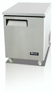 Migali C u27r Commercial Single Door Undercounter Refrigerator