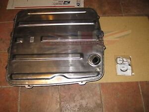 New Gas Fuel Tank Mg Mgb 1970 1976 With Oe Sending Unit W Lock Ring And Seal Do