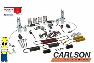 Complete Rear Brake Drum Hardware Kit For Ford Ranger 1995 2009 With 10in Drums