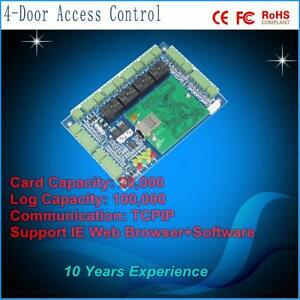 Wiegand Access Brand 4 Doors Access Control Panel Control Board Controller