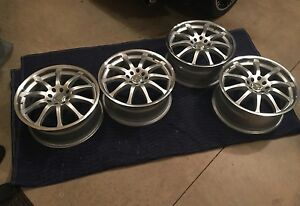 17 Icw Racing Wheels