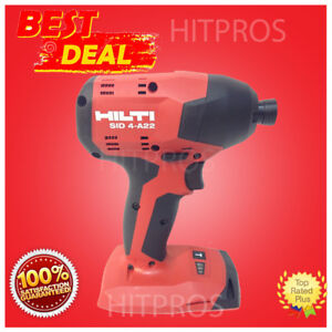Hilti Sid 4 a22 Cordless Impact Drill Driver New Model 2 Batteries Fast Ship