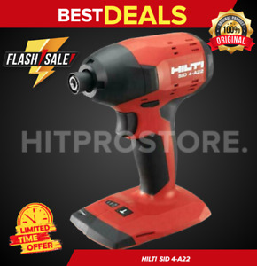 Hilti Sid 4 a22 Cordless Impact Drill Driver New Model Compact Set Fast Ship