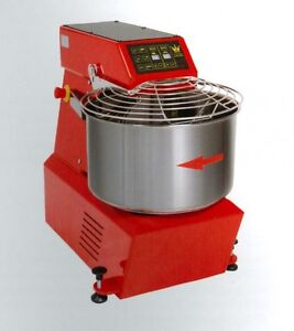 Spiral Dough Mixer 50 Lt 56 Qt 42 Kg 92 Lbs With Timer Made In Italy