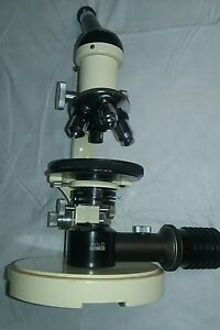 Optical Microscope M11 Wild Heerbrugg Switzerland Optics