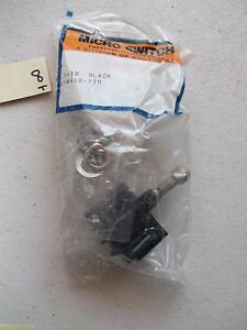 New In Pkg Micro Switch 4tl1 3d Toggle Switch Black Ms24660 23d 323
