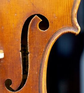 Very Old Labelled Vintage Violin Carlo Bisiach 1948 Geige