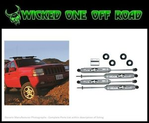 Rubicon Express 2 0 Inch Lift Kit With Twin Tube Shocks For Grand Cherokee Zj