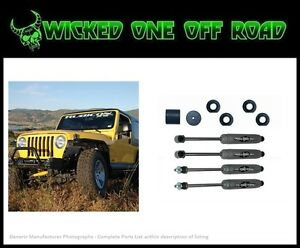 Rubicon Express 2 5 Inch Lift Kit W Twin Tube Shocks For Jeep Wrangler Tj