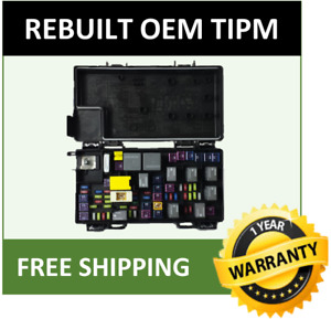 2013 Jeep Grand Cherokee Oem Rebuilt Tipm Fuse And Relay Box 68244877