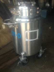 Walker Reactor 50 Gallon 316l Stainless Steel