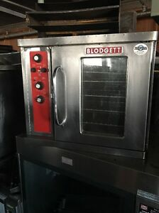 Blodgett Half Size Used Electric Convection Oven Ctbr 1