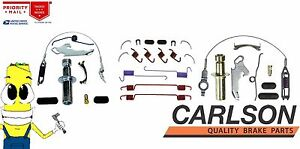 Complete Rear Brake Drum Hardware Kit For Ford F250 80 98 Equipped W 3 In Shoes