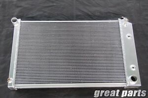3 Row 1970 1981 Chevy Camaro El Camino Aluminum Radiator At Mt W 26 Core