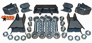 Lower Triangulated Four Link Suspension Kit 1 1 4 Chromoly Heims