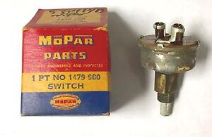 1953 1954 Dodge Plymouth Windshield Wiper Control Switch New Old Stock 1479980