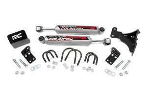 Rough Country Jeep Dual Steering Stabilizer 2 6 Lifts