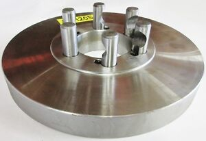 10 Chuck Adapter Plate D1 5 Spindle Mount 1 1 4 Thickness