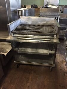 36 Commercial Gas Charbroiler Station