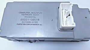 89221 08010 Toyota Sienna Computer Multiplex Network Body Used
