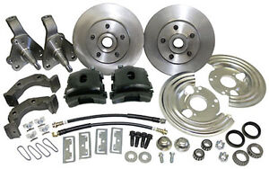 1962 74 Mopar Plymouth Dodge Front Disc Brake Conversion Black Caliper