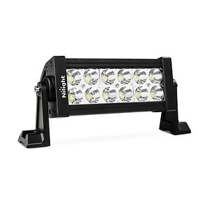 Nilight 7 36w Spot Led Work Light Off Road Led Light Bar 12v Driving Lights