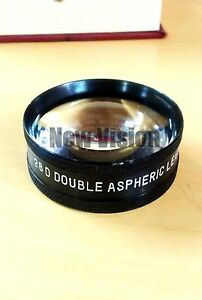 28d Double Aspheric Lens Case Ophthalmology Optometry Iso Ce Hy52365