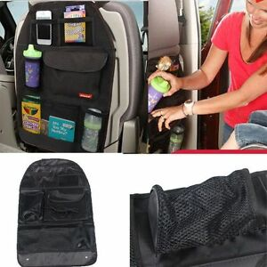 Portable Simple Protector Car Back Seat Organizer Multi Pocket Storage Bag