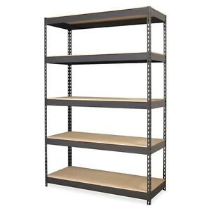 Riveted Steel Shelving 72 Height X 48 Width X 24 Depth Recycled