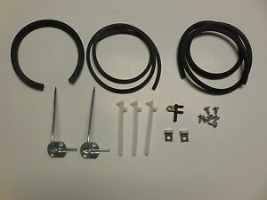 Mopar 66 67 Belvedere Windshield Washer Hose Nozzle Kit
