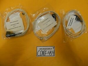 Leybold 20078736 Temperature Alarm Pressure Switch Cable Reseller Lot Of 3 New
