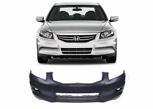 Replacement Front Bumper Cover For 2011 2012 Honda Accord Sedan New Free Ship