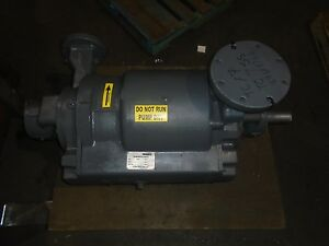 Nash Vacuum Pump Liquid Ring Pump Tc 7 316 Ss 2 Stage 100 Rebuilt W warranty