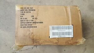 Nos 7 50 20 Gmc Cckw 1 Ton Trailer Inner Tube For Military Truck American Made