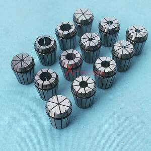 New 13pcs Er32 Spring Collet Set 1 16 3 4 Cnc Super Precision Milling Tool