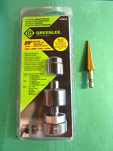 Greenlee 7211bb 1 2 Slug buster Knockout Punch Unit Brand New Fast Shipping