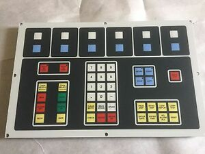 Used Duraswitch Int15232 c p n Int Paper Control Panel Pcb membrane Ag0993 Boxyo