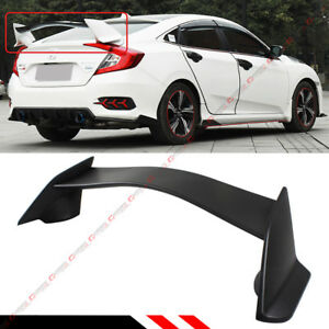 For 2016 2019 10th Gen Honda Civic Sedan Jdm Ctr Type R Style Trunk Spoiler Wing