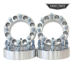 4 Qty 1 5 Inch 8x6 5 To 8x170 Wheel Adapters Spacers 14x1 5 Studs 8lug